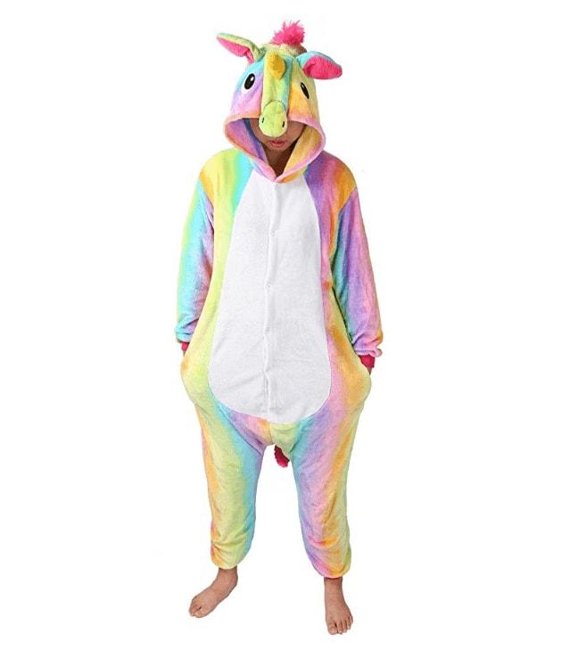 je suis une licorne pyjamas cosplay licorne corne oreilles et crini re 3d multicolore. Black Bedroom Furniture Sets. Home Design Ideas